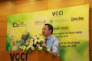 Phát động Chương trình doanh nghiệp bền vững tại Việt Nam năm 2019