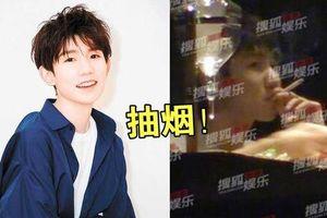 Truyền thông Anh đưa tin Vương Nguyên hút thuốc, fan lo lắng thần tượng mất hình ảnh nghiêm trọng