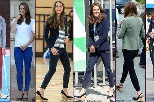 Công nương Kate Middleton phá vỡ quy tắc trang phục trước Nữ hoàng Anh