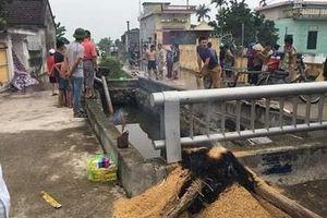 Nam Định: Phát hiện người đàn ông tử vong dưới cống nước sau nhiều ngày mất tích