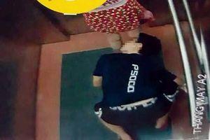 Lộ diện thanh niên quỳ trong thang máy nhìn xuyên váy phụ nữ