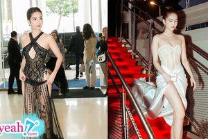Ngọc Trinh bất ngờ kín đáo lạ thường sau lần mặc như không tại Cannes 2019 mới đây