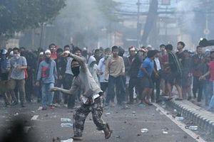 Người biểu tình đổ về thủ đô Indonesia phản đối kết quả bầu cử