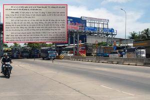 Hiệp hội Vận tải An Giang: Trạm T2 BOT Quốc lộ 91 đang vi phạm pháp luật nghiêm trọng