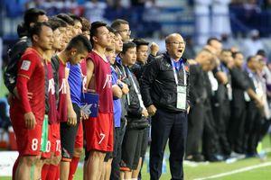 Thầy trò ông Park vào thẳng vòng loại thứ hai World Cup 2022