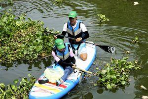 Nước sông Sài Gòn chứa nhiều hạt vi nhựa ảnh hưởng đến sức khỏe