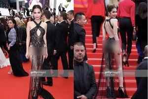 Báo Anh: Váy Ngọc Trinh là trang phục táo bạo nhất ở Cannes 2019