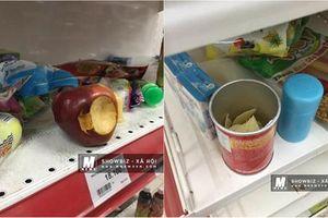 CĐM phẫn nộ với thói quen vô tư ăn thử đồ siêu thị của người Việt