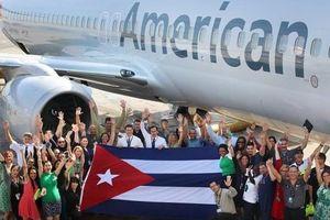 Hãng hàng không Mỹ lên kế hoạch tăng cường các chuyến bay tới Cuba