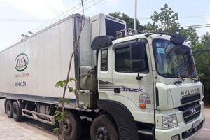 Xe tải chở 300 kg 'thịt thối'
