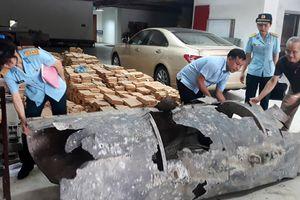 Phát hiện vật thể nghi xác máy bay trên vịnh Hạ Long