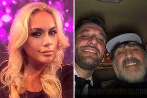 Maradona bị bắt ngay tại sân bay vì bị bạn gái cũ 'đòi nợ' 5 triệu bảng