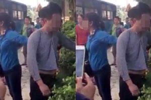Người đàn ông trung niên bị đánh vì sờ ngực phụ nữ trên xe buýt