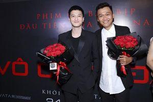 Xuân Nghị, Huỳnh Anh lịch lãm trên thảm đỏ trong ngày ra mắt phim 'Vô gian đạo'