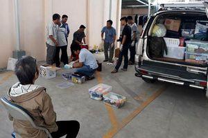 Vụ 2 thi thể trong khối bê tông: Kiểm tra nơi tu luyện ở Bà Rịa - Vũng Tàu