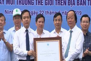Khu bảo tồn Vân Long - Khu Ramsar thứ 9 của Việt Nam