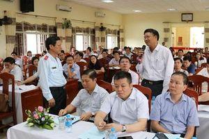 Gần 150 đại biểu dự Hội nghị Phổ biến Luật Phòng, chống tham nhũng