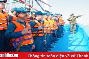 Ban CHQS TP Sầm Sơn tổ chức huấn luyện trung đội dân quân biển