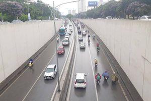 Liên tiếp tai nạn, tổ chức lại giao thông hầm Kim Liên, Hà Nội