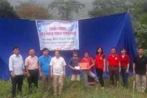 Xây dựng nhà cho gia đình nạn nhân chất độc da cam huyện Yên Thủy – Hòa Bình