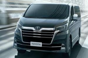 Toyota Granvia- tân binh mới dòng Minivan sẽ ra mắt vào cuối năm nay