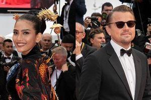 Trương Thị May diện áo dài nền nã trên thảm đỏ Cannes 2019