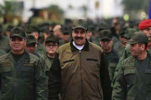 Tổng thống Maduro kêu gọi quân đội Venezuela sẵn sàng chống Mỹ
