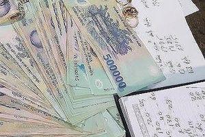 Phá đường dây đánh bạc, thu giữ gần 1 tỉ đồng ở huyện miền núi