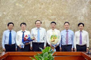 Trao quyết định bổ nhiệm 2 Phó Tổng cục trưởng Tổng cục Khí tượng Thủy văn