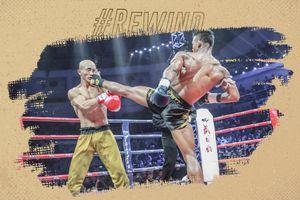 Nằm sàn 6 lần, 'Đệ nhất Thiếu Lâm' bất ngờ thắng võ sĩ Muay