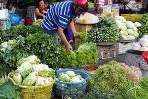 Thời tiết thất thường, rau xanh tăng giá mạnh
