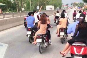 Không cài mũ bảo hiểm khi điều khiển xe máy bị xử phạt thế nào?
