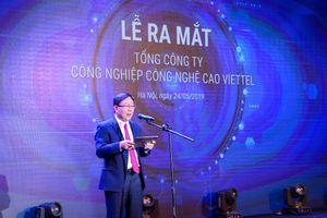Viettel ra mắt tổng công ty công nghệ cao