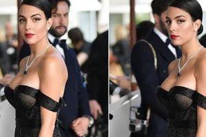 Sau Ngọc Trinh, vợ sắp cưới của Ronaldo gây sốt ở Liên hoan phim Cannes