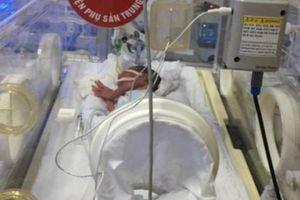 Bác sĩ kể phút sinh tử của người mẹ ung thư giai đoạn cuối gắng gượng để con chào đời