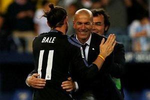 Bụi cây trước mặt Zidane