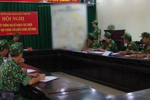 Diễn tập khu vực phòng thủ huyện Vị Xuyên năm 2019