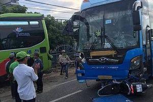 Tai nạn liên hoàn khiến xe khách lao vào nhà dân, 1 người tử vong