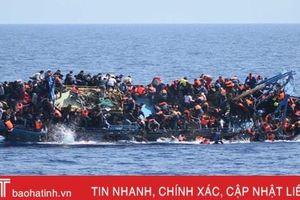290 người di cư được giải cứu ngoài khơi bờ biển Libya