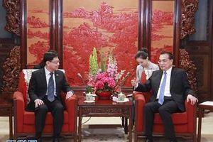 Trung Quốc-Singapore đẩy mạnh bảo vệ hệ thống thương mại đa phương