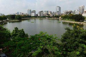 Người dân Hà Nội vui mừng vì nước hồ Ba Mẫu đã sạch hơn