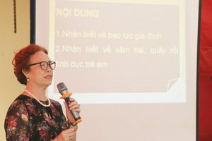 Hỗ trợ phụ nữ và trẻ em phòng ngừa, ứng phó với bạo lực, xâm hại