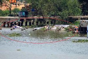 TP.HCM: Thông tin chính thức vụ sập cầu tàu Ba Son hơn 130 năm tuổi xuống sông Sài Gòn