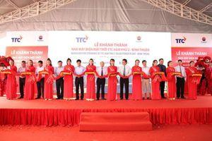 Khánh thành nhà máy điện mặt trời TTC - Hàm Phú 2 trị giá hơn 1.017 tỷ đồng tại Bình Thuận