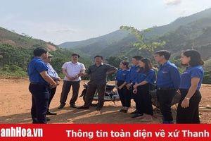 Đoàn công tác của Trung ương Đoàn làm việc tại huyện Mường Lát