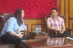 Hội Chữ thập đỏ Việt Nam làm việc với Tổ chức Resonance
