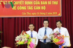 Thứ trưởng Bộ Kế hoạch và Đầu tư làm Phó Bí thư Thành ủy Cần Thơ