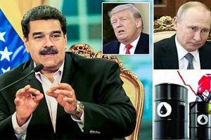 Ông Trump bóp nghẹt Maduro, tặng quà lớn cho ông Putin