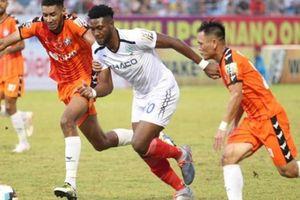 HAGL thua trận đầu tiên dưới thời HLV người Hàn Quốc