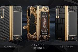 Ngắm Samsung Galaxy Fold phiên bản Game of Thrones đẹp rụng rời